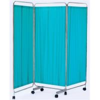 Buy cheap 3 Folding Waterproof Bed Screen For Hospital Ward , Medical Hospital Furniture from wholesalers