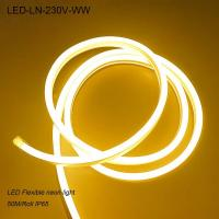Buy cheap 230V outdoor waterproof IP65 flexible led neon light for cinema from wholesalers