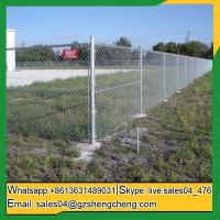 Buy cheap Craiglie Hot galvanized used chain link fence panels for sale from wholesalers