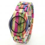 Unisex Wooden Quartz Watch Bamboo Band Manufactures