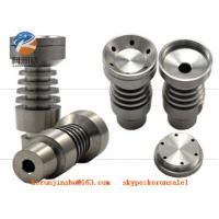 Buy cheap 14mm & 18mm Domeless Titanium Nail with big bowl-male joint  GR2 from wholesalers