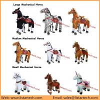 Buy cheap Cuddly Stuffed Horse Kids Toys, Toys Mechanical Riding Horse, Antique Toy Horse for Child from wholesalers