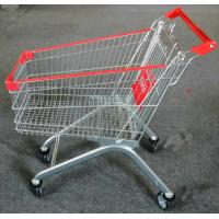 Buy cheap Strong Frame Folding Shopping Cart , Shopping Trolley Cart 5 Inch Caster Size from wholesalers