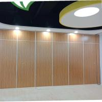 Buy cheap Wooden Sliding Sound Proof Partitions / Meeting Room Movable Wall Panel from wholesalers