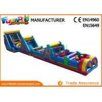 Wholesale Commercial Inflatable Sport Games / Indoor Obstacle Course For Children from china suppliers