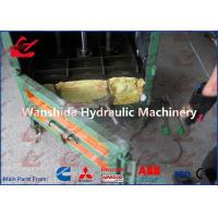 Buy cheap Plastic Films Vertical Compactor Plastic Baling Machine , Automatic Bale Packing from wholesalers