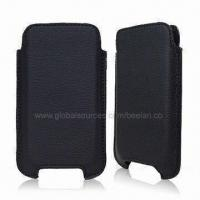 Buy cheap Leather Cases with 2.0mm Thickness, Suitable for iPhone 3G from wholesalers