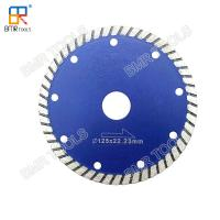 Buy cheap 4 Fine Diamond Turbo Saw Blade Cutter Disc For Granite Marble Quartz Stone Concrete Dry Cutting from wholesalers