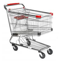 Buy cheap Power Coating Steel American Style 120L, 125L, 150L, 180L Supermarket Shopping Trolleys from wholesalers
