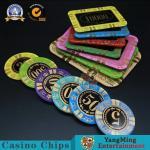Buy cheap 13.5g Rectangular Poker Chips / Gambling Table Plastic RFID UV Light Casino Poker Club VIP Chips from wholesalers