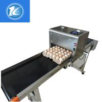 1 - 4 Printing Lines Egg Marking Equipment With Green / Red Food Grade Ink