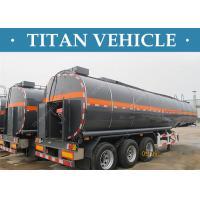 Buy cheap 3 Axles Tanker Trailer Insulated Heated Bitumen Transport Semi Trailer product