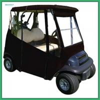 Buy cheap Classic Accessories 3 Sided Golf Cart Enclosures With Zippered Door Golf Cart Rain Cover from wholesalers