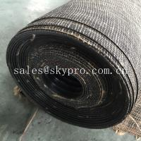 Buy cheap Durable wide ribbed rubber safety mats with nylon mesh fabric reinforced on bottom from wholesalers