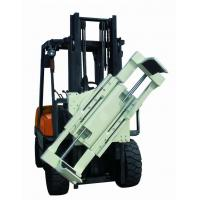 Buy cheap Forklift Lifting Hook Attachments , Forklift Boom Attachment 55 Gallon Oil Drum Lifting Clamp from wholesalers