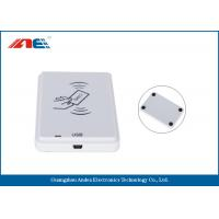 Buy cheap White NFC Contactless Reader , Anti - Collision Mifare NFC Reader And Writer from wholesalers