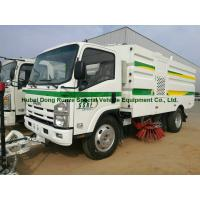 Buy cheap Multifunctional ISUZU Road Cleaning Truck , Vacuum Broom Sweeper Truck from wholesalers