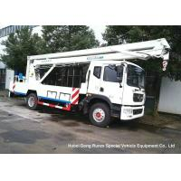 Buy cheap DFAC D9 20m Aerial Platform Truck EURO 5 , Ruck Mounted Hydraulic Platform from wholesalers