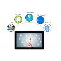 Buy cheap HDMI DVI TFT LCD Touchscreen Display , Industrial Touch Screen Monitor 15.6 Inch from wholesalers