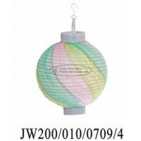 Wholesale Multicolor Twist Party Paper Lanterns from china suppliers