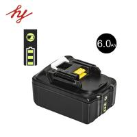 Buy cheap Makita BL1860 battery for power tool/drill/saw/driver with led light indicate from wholesalers