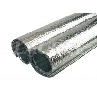 Buy cheap Heat insulation bubble foil with double sided aluminium(AL+BUBBLE+BUBBLE+AL) from wholesalers