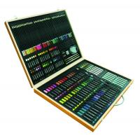 Buy cheap art set &165pcs stationery set in wood box w/shrink wrap&set of 53pcs England easel from wholesalers