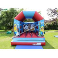 Buy cheap Commercial Children Inflatable Jumping Castles With Despicable Me Theme from wholesalers