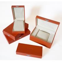 Buy cheap Customized Wood or cardboard gift box packaging with Embossing Logo for jewellery from wholesalers
