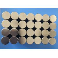 Buy cheap Hot Sale Good Quality Customized Small Size Disc Sintered Ndfeb Magnete from wholesalers