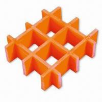 Buy cheap FRP grating, corrosion-resistant and fire-retardant from wholesalers