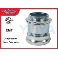 Galvanized Steel Electrical Compression Connector for Indoors Manufactures