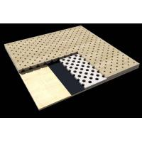 Buy cheap Office Building Perforated Wood Acoustic Panels / Sound Absorption Board from wholesalers