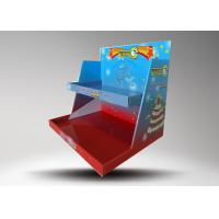 Buy cheap Custom logo Colorful Retail Display Stands / Candle Display Racks With 2 Tiers from wholesalers