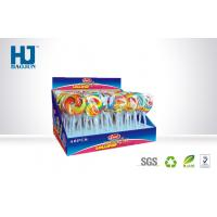 Buy cheap Packaging Coustom Counter Top Display Boxes for Lollipop Candy Snacks for Children from wholesalers