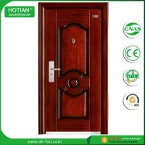 Wholesale Exterior Steel Door with Mul-T-Lock China Turkish Steel Security Door Design Top Quality Iron Doors from china suppliers