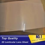 Buy cheap UV Curing Process 100 LPI Resin PET Lens Plastic Flip 3D Lenticular Sheet 0.35mm 0.6mm lenticular films plastic from wholesalers