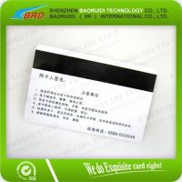Wholesale lamination Hico magnetic strip card from china suppliers