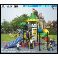 Buy cheap non-toxic,anti-static galvanized outdoor playgrounds equipment for Kids from wholesalers