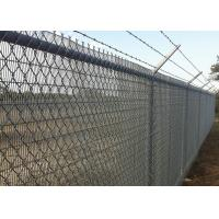 Buy cheap White Wire Mesh Fencing , Chain Link Mesh Fence 60 X 60 X 2.8MM from wholesalers