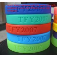Wholesale Customized designs and logo 100% Silicone chain bracelet for women from china suppliers