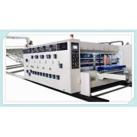Buy cheap flexo printing slotting die cutting machine /water ink printer slotter die cutter machine from wholesalers