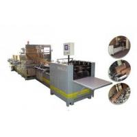 Buy cheap 12kw 50HZ 3 phase 4 wire multilayer Kraft paper sack machine, cement bag making machine from wholesalers