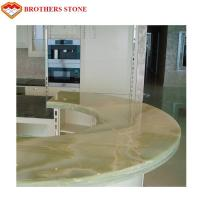 Wholesale Brothers Stone Luxury Green Onyx Light Green Onyx Table Top from china suppliers
