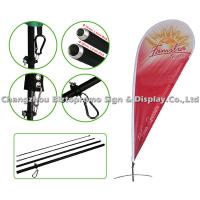 Buy cheap Promotional Sports Outside Flags And Banners Vertical Advertising Flags from wholesalers