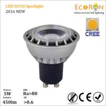 Buy cheap amazon online shopping 5w 7w gu10 cob spot led light bulb ra80 15degree 120v 220v from wholesalers