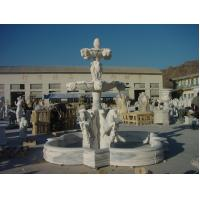 Wholesale large marble garden water fountain from china suppliers