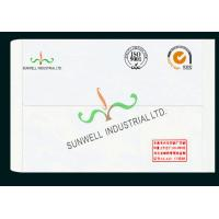 Buy cheap Normal Finishing Custom Printed Envelopes , Business Greeting Card Envelopes from wholesalers
