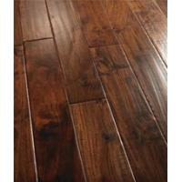 Buy cheap Acacia engineered flooring handscraped natural oiled from wholesalers