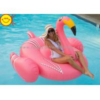 Blow Up Inflatable Water Floats Inflatable Orange Flamingo Pool Toy Fun Float Games Manufactures
